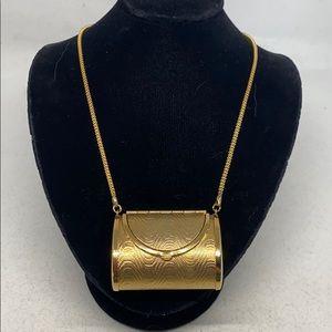 Jewelry - Adorable vintage 'handbag' necklace.